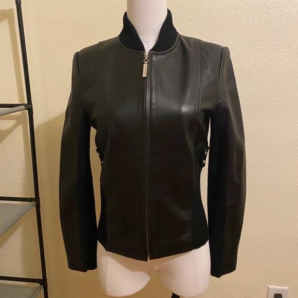 St John Sport Leather Jacket